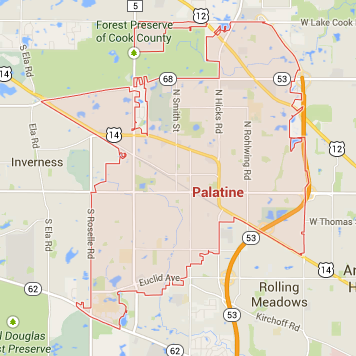 Palatine Illinois Map.Palatine Il Homes For Sale Startingpoint Realty