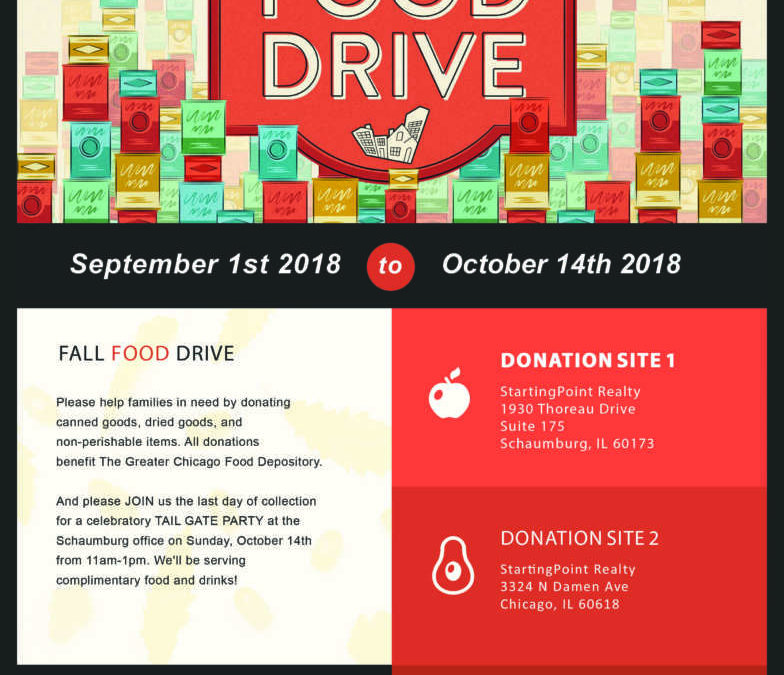 Donate to the StartingPoint Fall Food Drive!